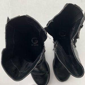 G by Guess Shoes - G by Guess Black Combat Boots